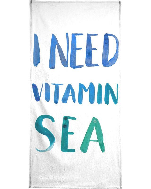 Vitamin Sea -Handtuch