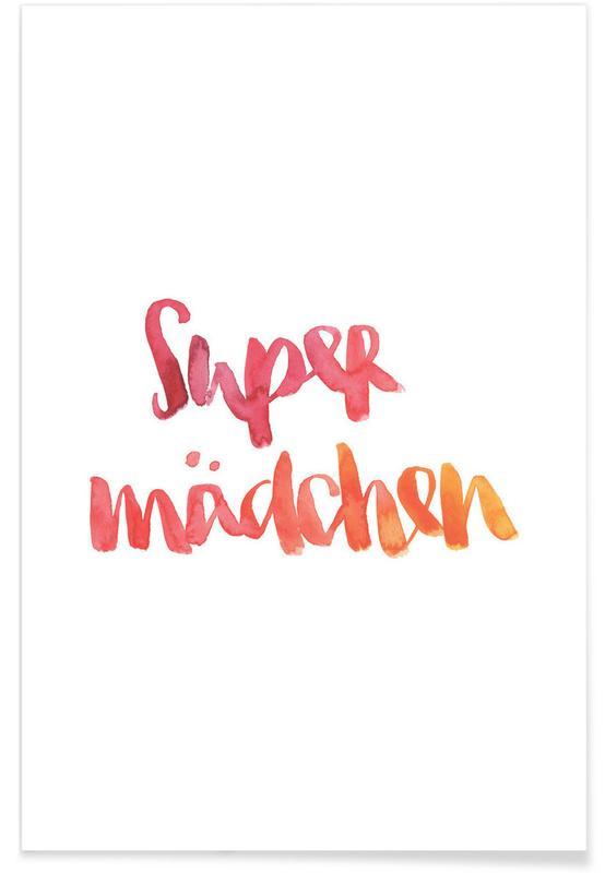 Supermädchen -Poster