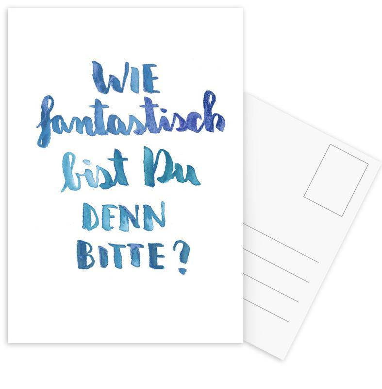 Fantastisch -Postkartenset