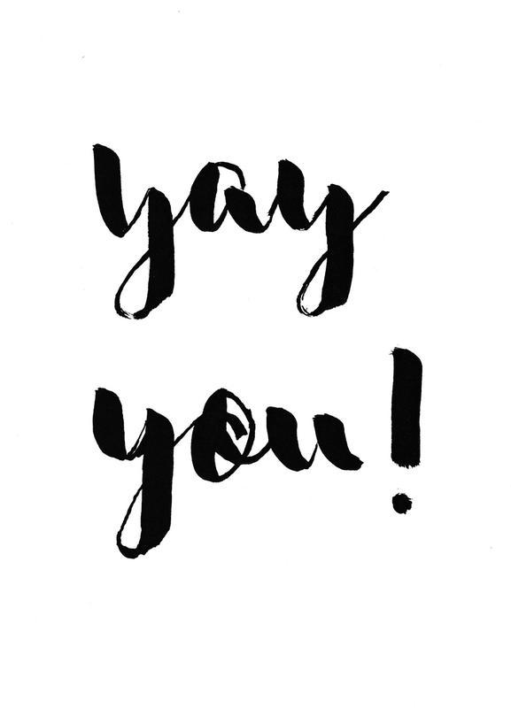 Yay You -Leinwandbild