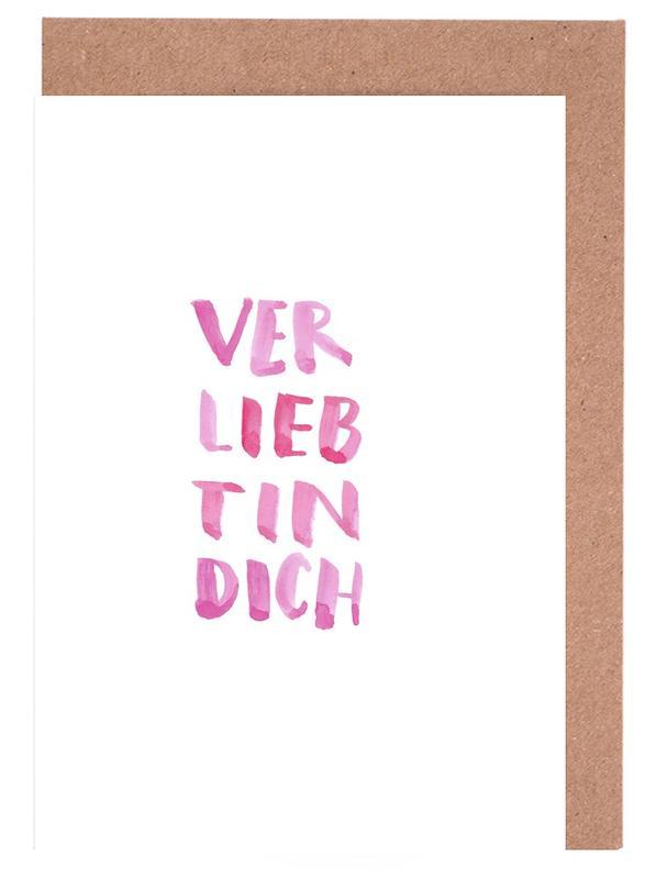 Verliebt Greeting Card Set