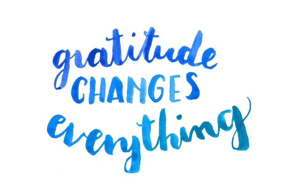 Gratitude -Alubild