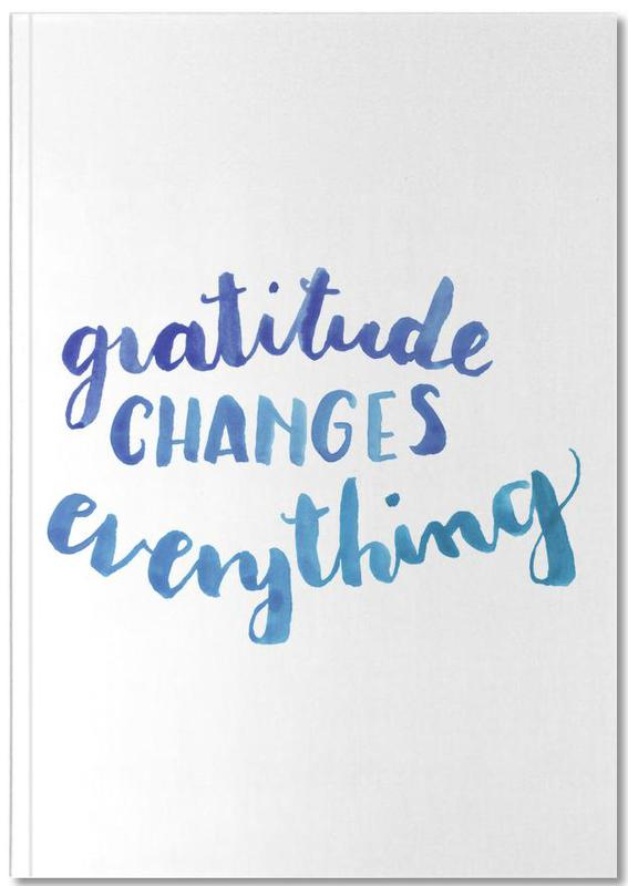 Motivation, Citations et slogans, Gratitude Notebook