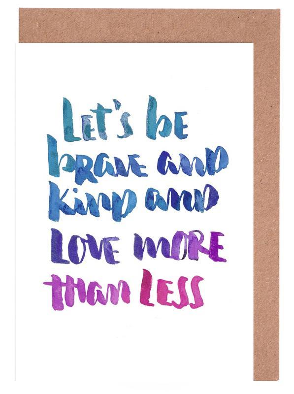 Love More -Grußkarten-Set
