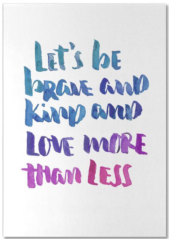 Love More -Notizblock