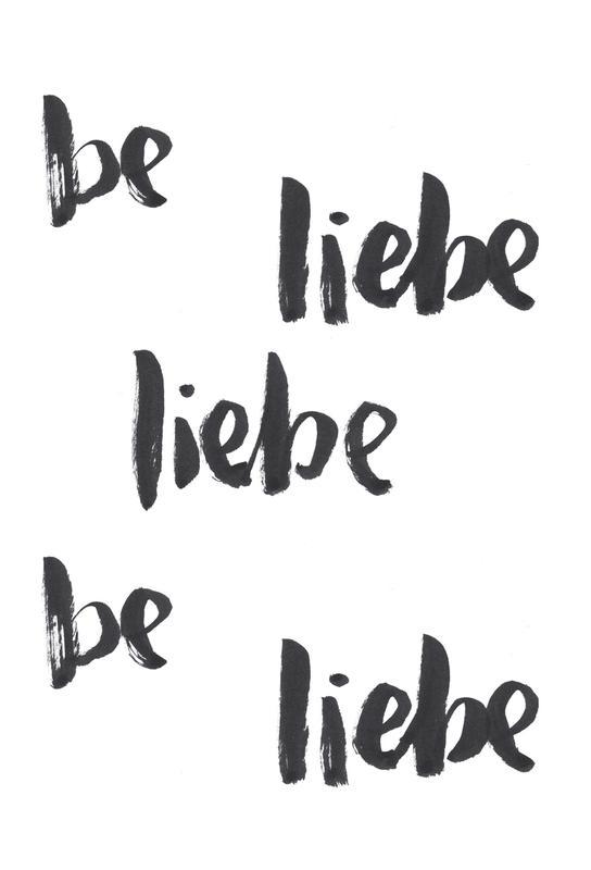 Liebe 2 -Alubild