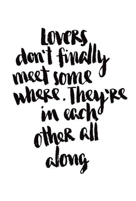 Lovers -Acrylglasbild