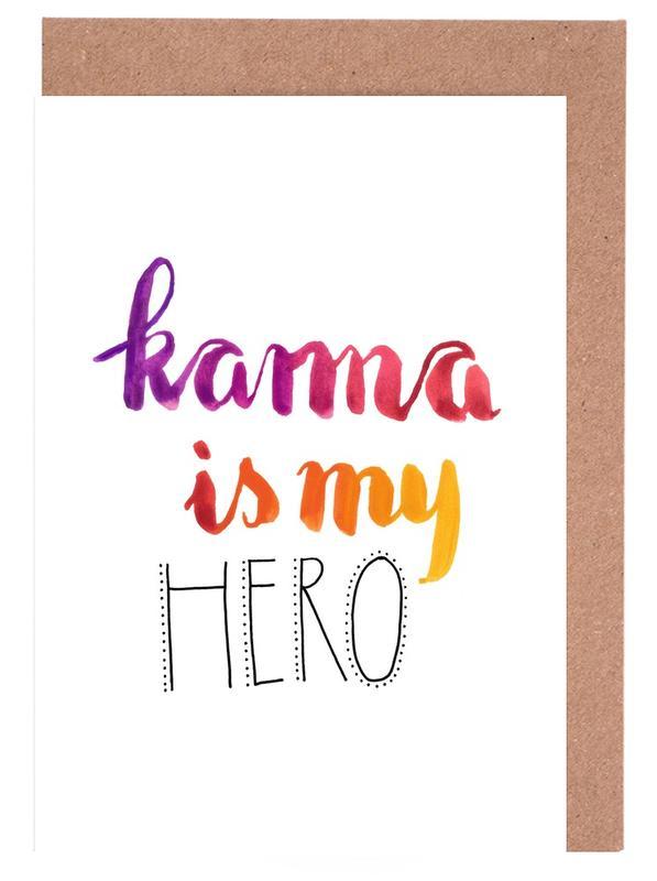 Karma Greeting Card Set
