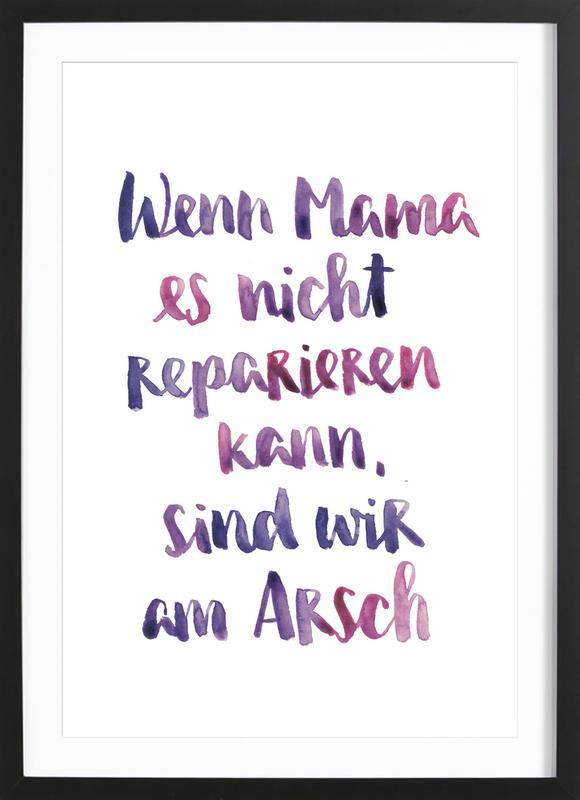 Mama 2 Framed Print