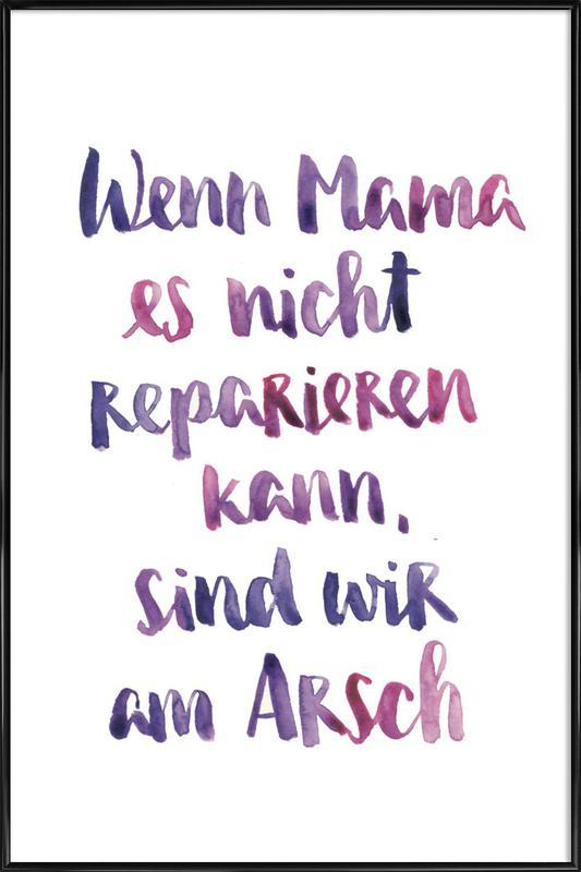 Mama 2 Framed Poster