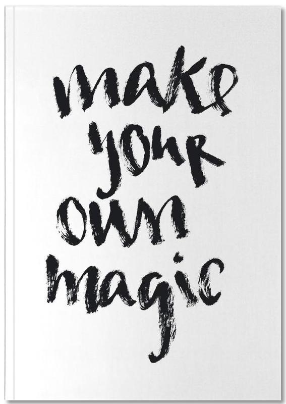 Schwarz & Weiß, Motivation, Zitate & Slogans, Magic Notebook