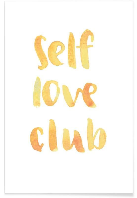 Self Love Club -Poster