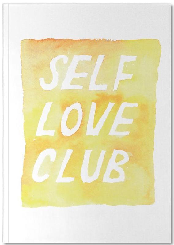 Citations et slogans, Motivation, Self Love Club 2 Notebook