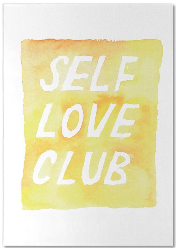 Self Love Club 2 -Notizblock