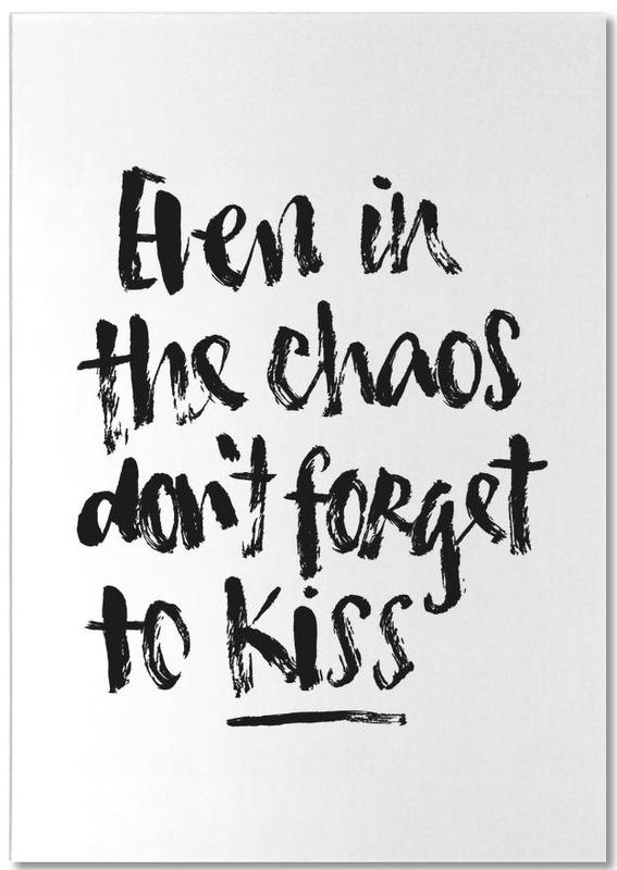 Don't Forget to Kiss -Notizblock