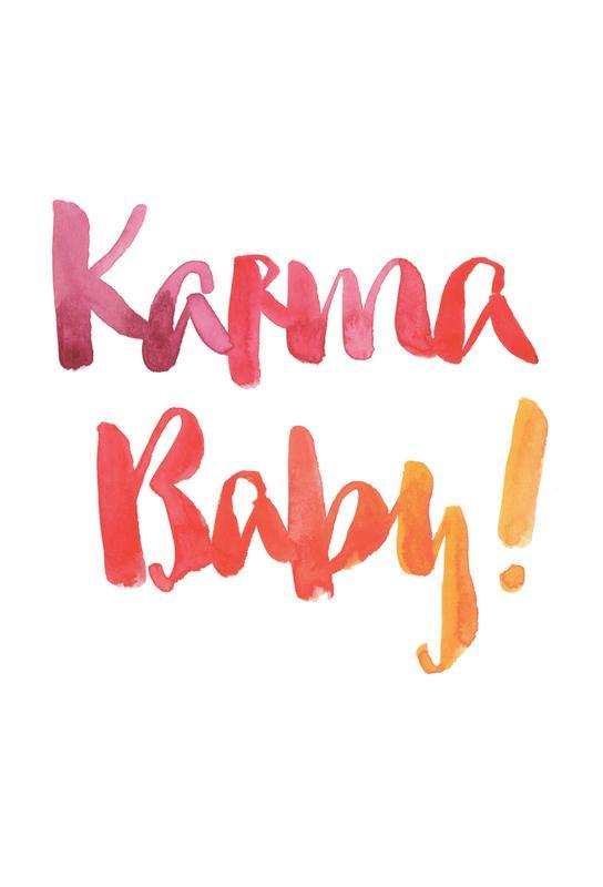 Karma Baby -Acrylglasbild