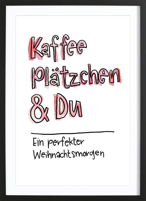 Kaffee & Du Framed Print
