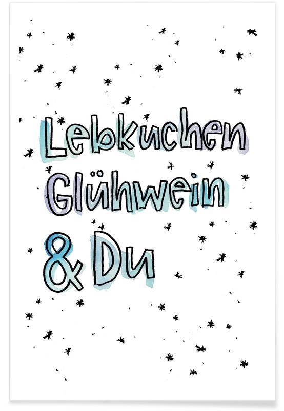 Lebkuchen & Du -Poster