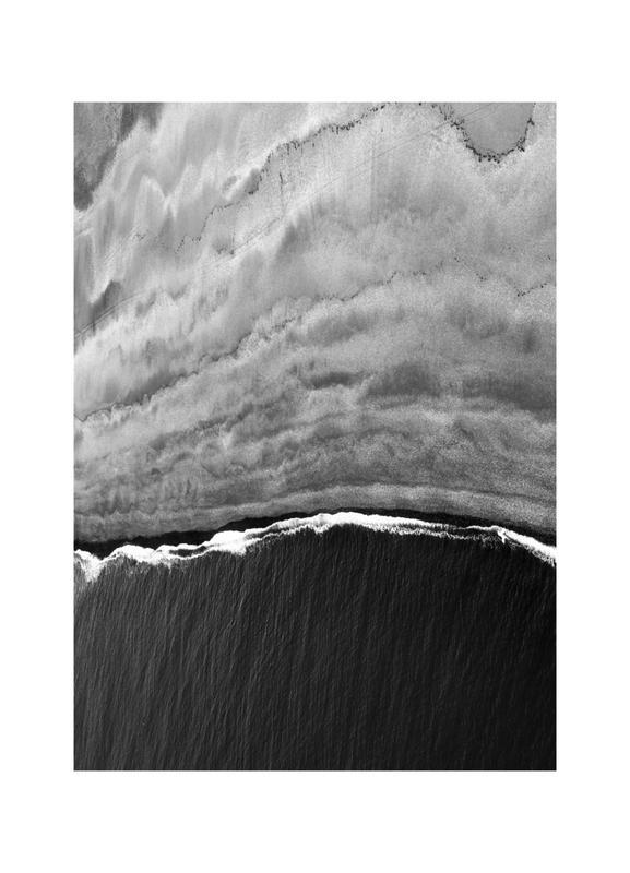 Black Ocean -Leinwandbild