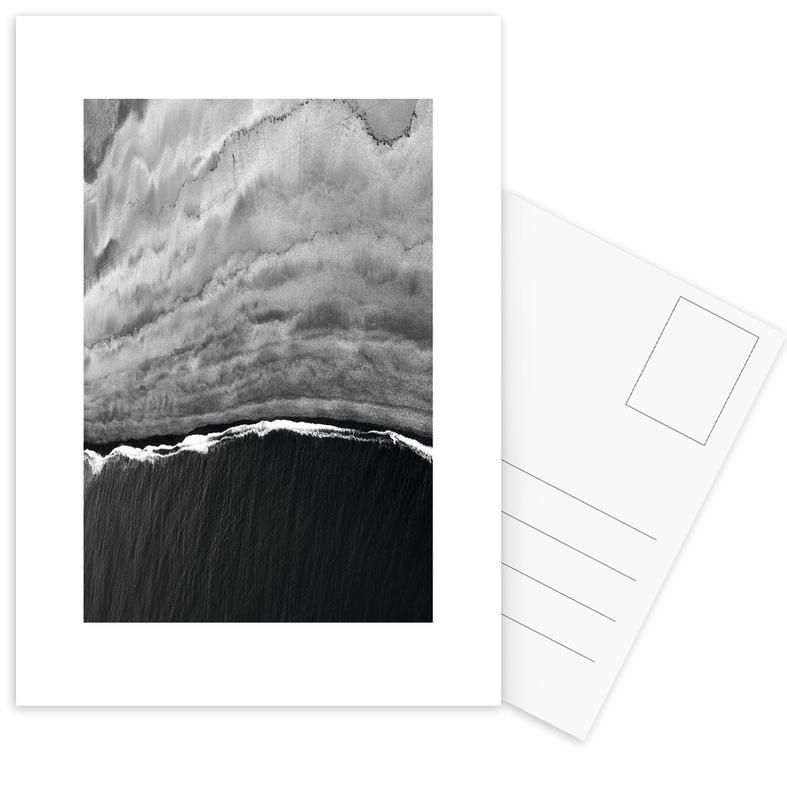 Black Ocean -Postkartenset