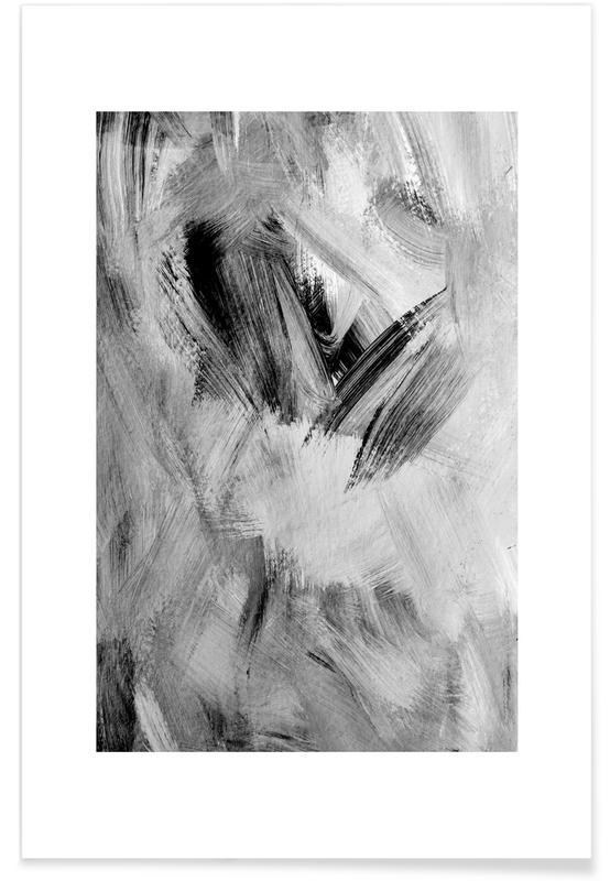 Noir & blanc, Painting affiche