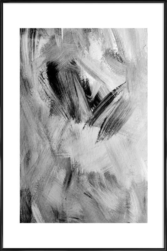 Painting -Bild mit Kunststoffrahmen