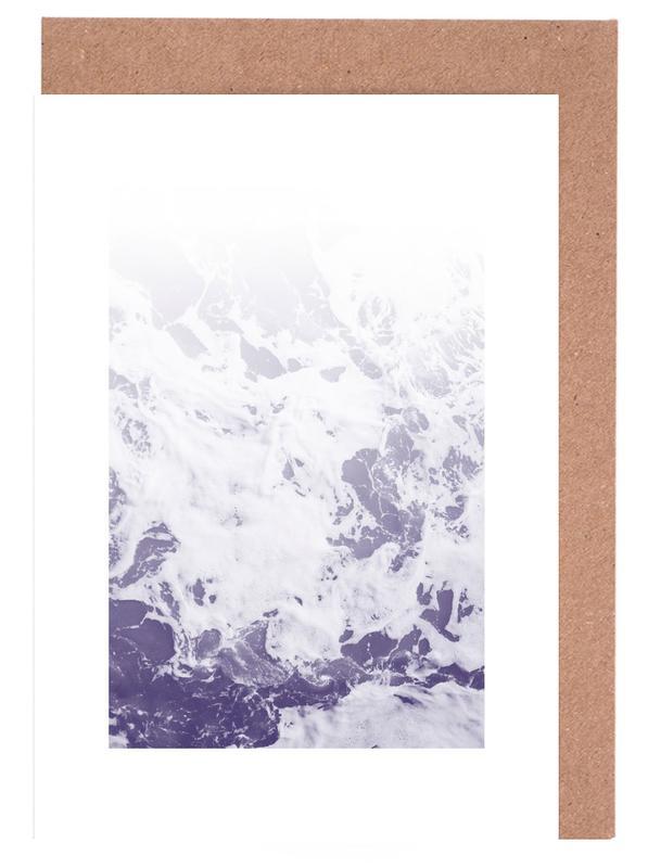 Purple Ocean -Grußkarten-Set