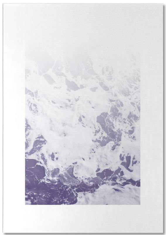 Purple Ocean -Notizblock