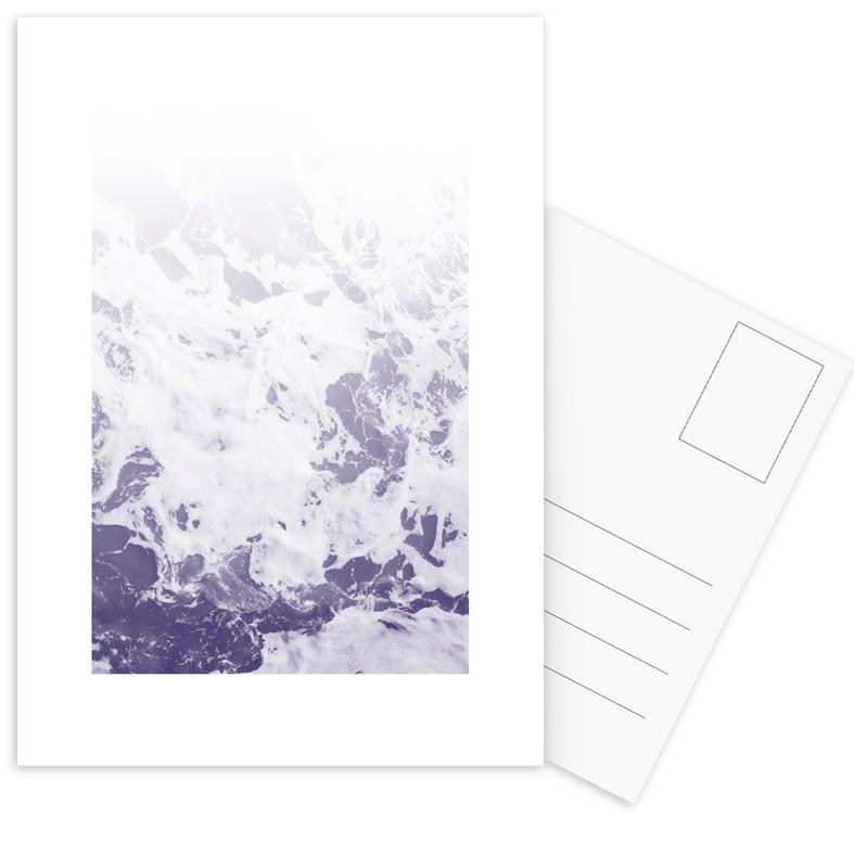 Purple Ocean Postcard Set