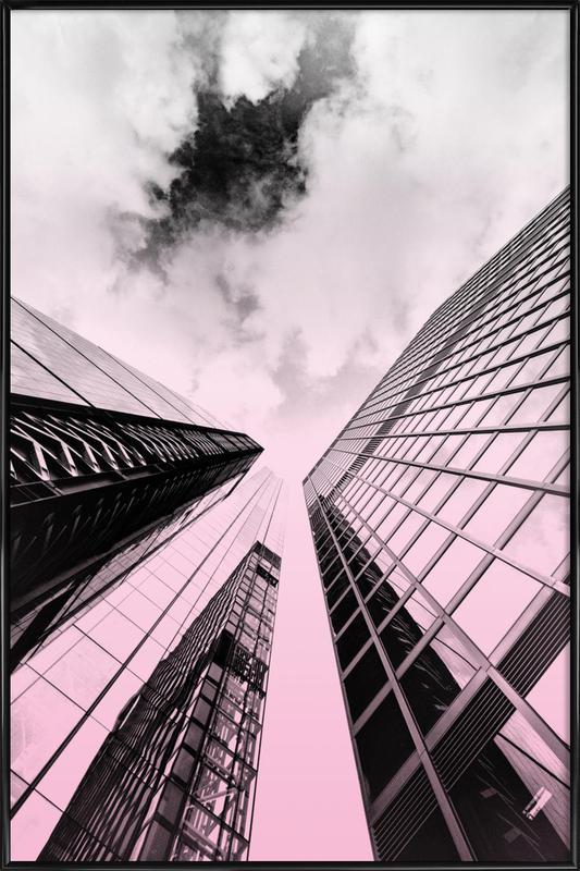 Skyscraper Framed Poster