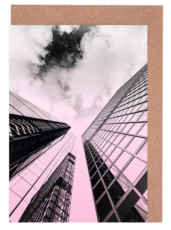 Skyscraper -Grußkarten-Set