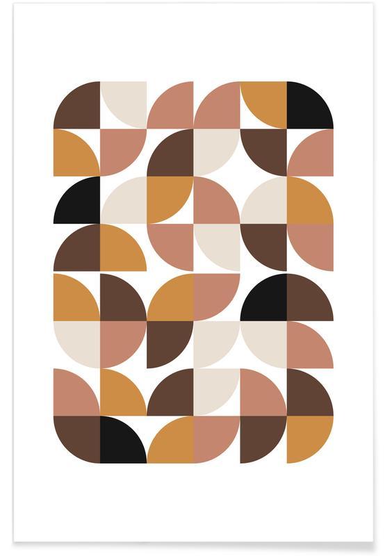 , Geometric affiche