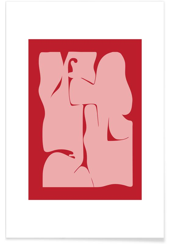 Abstract affiche