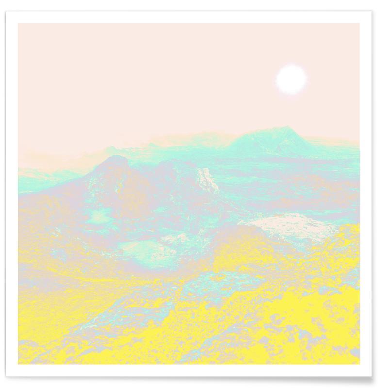 Abstrakte Landschaften, Another World -Poster