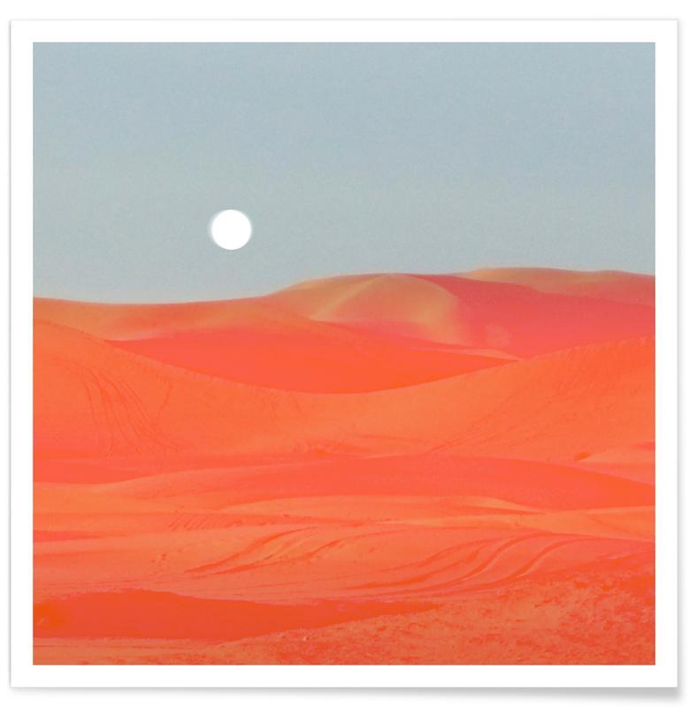 Abstrakte Landschaften, Blazing -Poster