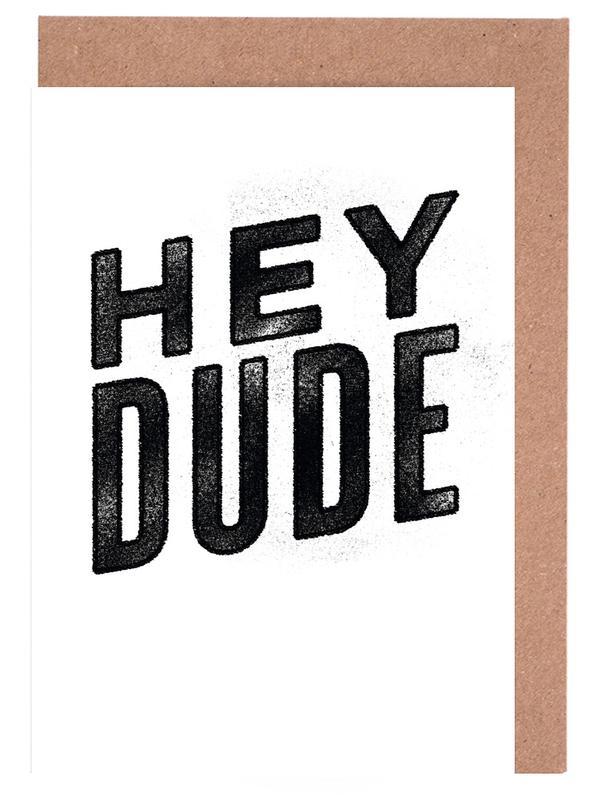 Hey Dude cartes de vœux