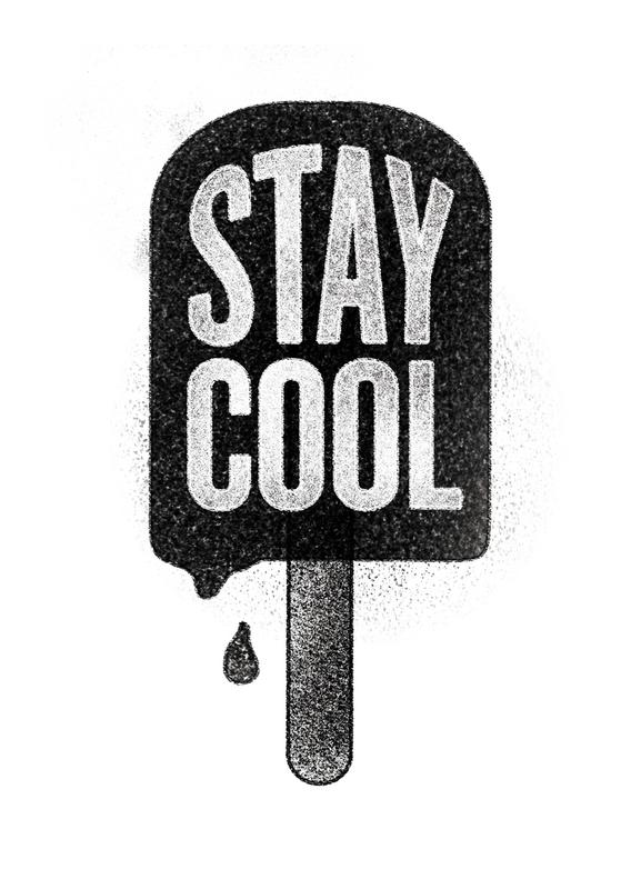 Stay Cool canvas doek