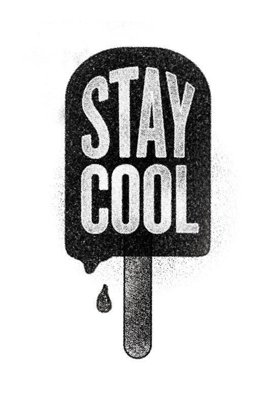 Stay Cool acrylglas print