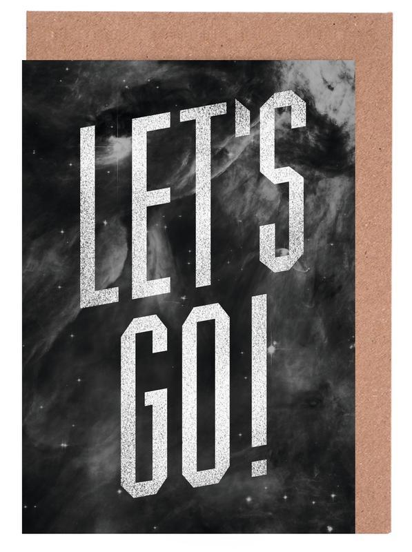 Let's Go cartes de vœux