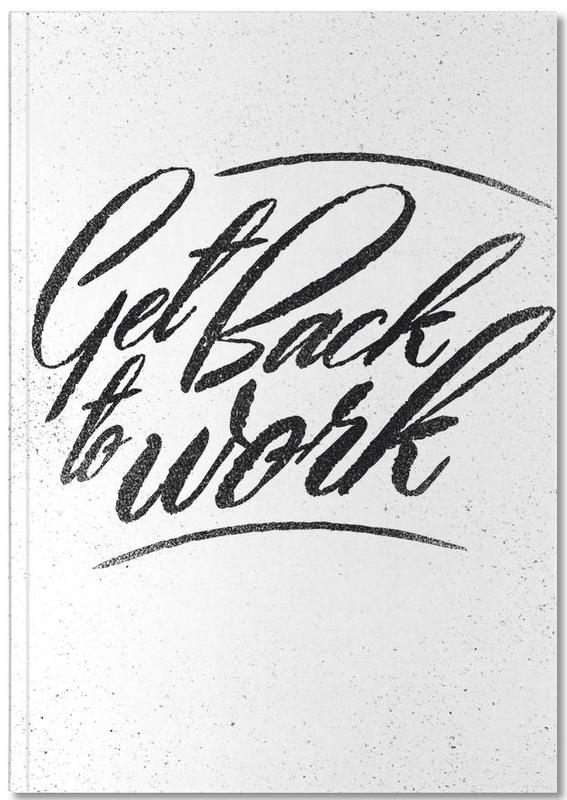 Back to Work Notebook