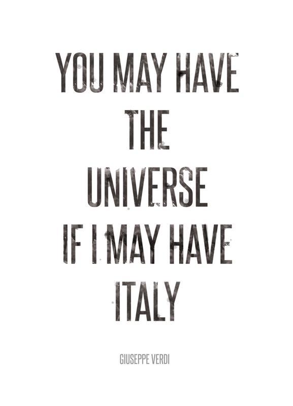 Italy canvas doek