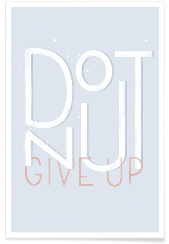 Donut Give Up affiche