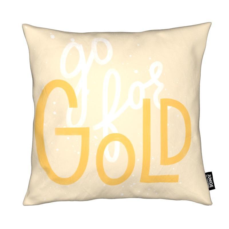 Motivation, Citations et slogans, Félicitations, Go For Gold coussin