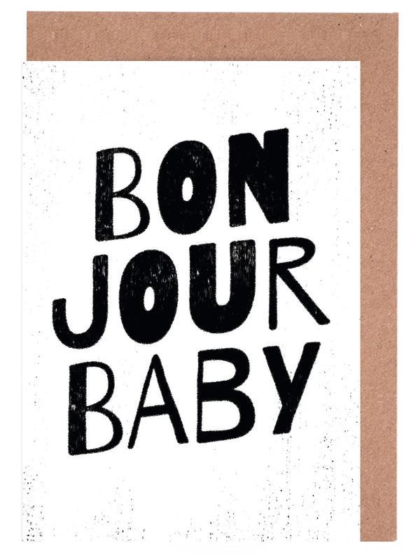 Bonjour Baby cartes de vœux