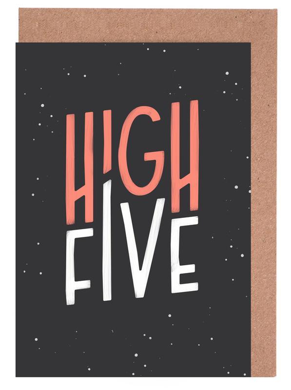 High Five Greeting Card Set