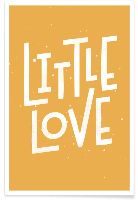 Citations d'amour, Naissances, Citations et slogans, Little Love affiche
