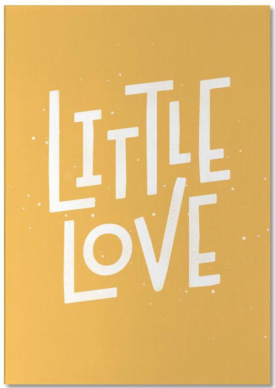 Zitate & Slogans, Geburt & Baby, Liebeszitate, Little Love -Notizblock