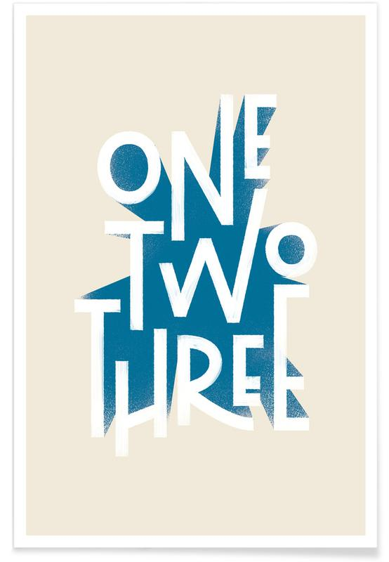 Cijfers, One Two Three poster