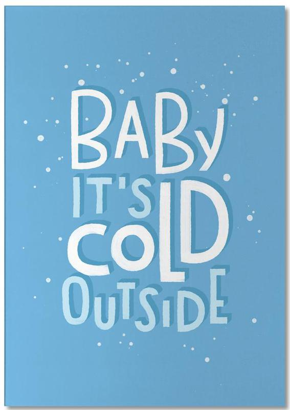 Cold Outside Notepad