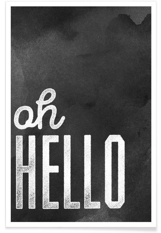 Oh Hello affiche